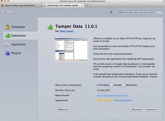 module-tamper-data