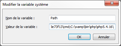 windows-path configuration